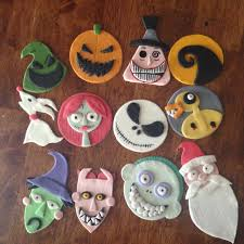 nightmare before christmas cupcake toppers nightmare before christmas cupcakes search nightmare
