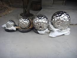 Garden Sphere Balls Large Decorative Stainless Steel Balls Stainless Steel Hemisphere