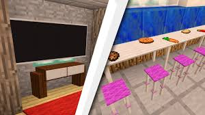 Minecraft Bedroom Furniture Real Life by New Furniture For Minecraft 1 11 And 1 12 Youtube