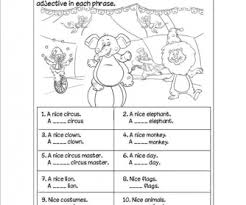 free printable adjectives worksheets adjective worksheet