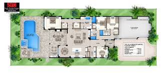 villa plans south florida designs narrow lot contemporary floor plan south