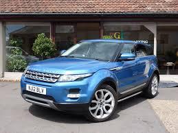 blue range rover used land rover range rover evoque hatchback 2 2 sd4 prestige