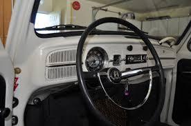 Vw Beetle Classic Interior 1967 Volkswagen Beetle White With Black Interior