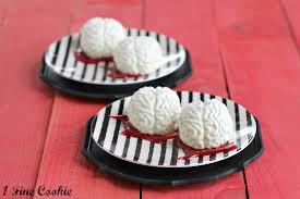 panna cotta brains with raspberry blood sauce 1 fine cookie
