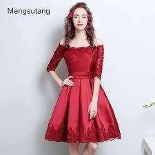 aliexpress com buy 2017 robe de soiree off shoulder red wedding