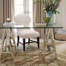 Home Office Glass Desks Feminine Office Office Decor Home Office Glass Desk White