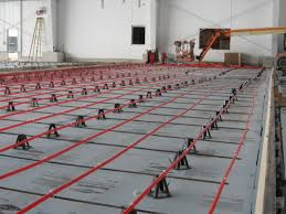 hybrid radiant heating design delivers significant space savings