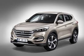 suv of hyundai 2016 hyundai tucson shows two different hybrid concepts in geneva
