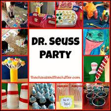 dr seuss party dr seuss theme party