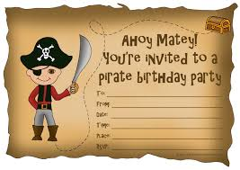 pirate birthday invitations templates egreeting ecards