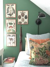 Green Wall Bedroom by Best 25 Benjamin Moore Green Ideas Only On Pinterest Green