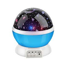 spinning l that projects pictures on the walls bestfire novelty 360 rotating round night light projector l star