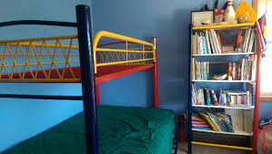 Bunk Bed Used Used Bunk Bed Frame With Matching Bookcase In Sunprairie