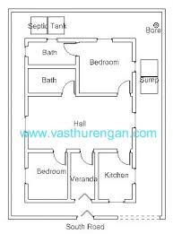 2 Bedroom House Plans Vastu Absolutely Smart House Plan For 1000 Sq Ft South Facing 14 Sqft 2