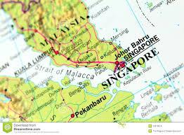 Singapore Map World by Singapore Map Royalty Free Stock Photos Image 25678818