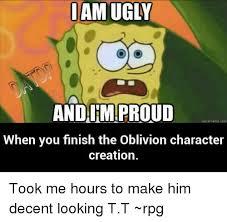 Creation Meme - iam do andairmproud quickmeme com when you finish the oblivion