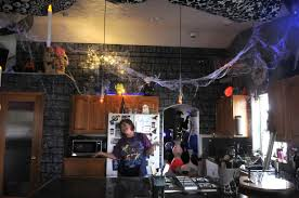 a halloween house a picture story at the spokesman review