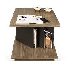 table d appoint pour canapé temahome table d appoint design goa noyer noir