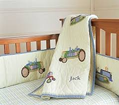 Pottery Barn Kids Baby Bedding Amazon Com Pottery Barn Kids Tractor Nursery Bedding Baby