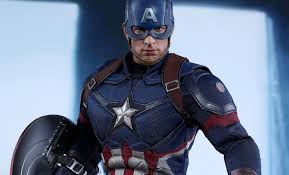 marvel captain america battling version sixth scale figure