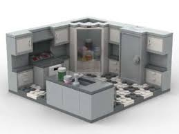 kitchen sink cabinet with dishwasher lego kitchen sink dishwasher refrigerator pantry stove oven cabinet drawers city ebay
