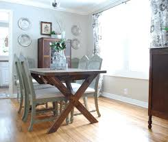 diy dining table ideas large brown slide curtain better decorating