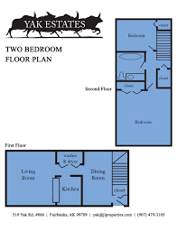 Floorplanes Fairbanks Alaska Apartments Yak Estates Maps And Floor Plans