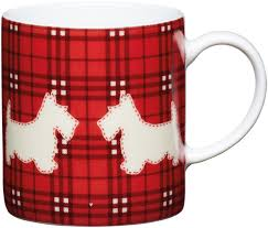 kitchen craft porcelain espresso cup scotty dog design 80ml