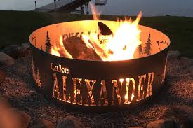 Custom Fire Pit by Custom Stainless Steel Fire Pit Made In Minnesota Design Your Own