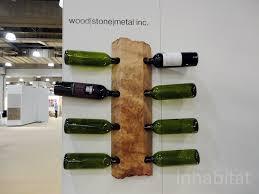 woodstonemetal winerack inhabitat green design innovation