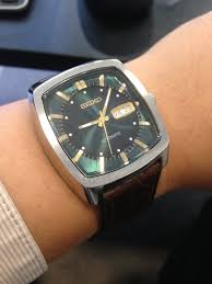 my eastern watch collection seiko recraft series automatic green