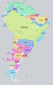 The Map Of South America by The True Size Of South America 1180x1896 Mapporn