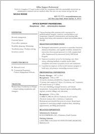 Resume Microsoft Office Skills Examples by Resume Microsoft Office Skills Examples Free Resume Example And