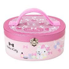 Vanity Box Hello Kitty Kids Cosmetic Set Vanity Case Girls Christmas Gift