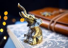bronze anniversary gifts elephant figurine bronze anniversary gift for men woman