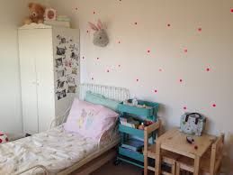 kids room child u0027s room girls room hensvik wardrobe polka dot wall