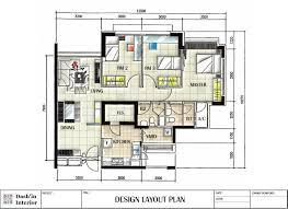 plan layout dash interior hand drawn designs floor plan layout home building