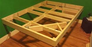 Floating Bed Frames Builds An Easy Bed Frame To Make An Diy Floating Bed