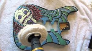 how to paint your guitar part 8 youtube