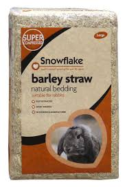 snowflake rabbit bedding barley straw