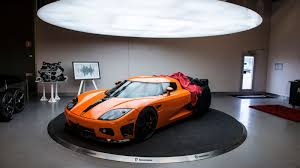 koenigsegg ghost one 1 take a tour of the hangar where koenigsegg builds amazing cars