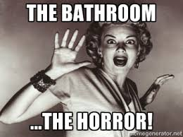 Bathroom Meme - the best bathroom panic memes and gifs so far queerty