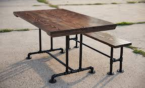 industrial kitchen table furniture industrial dining tables emmorworks