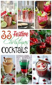 33 festive christmas cocktails and drinks for some merry making