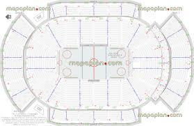 Nhl Map Gila River Arena Hockey Plan For Arizona Coyotes Nhl Games