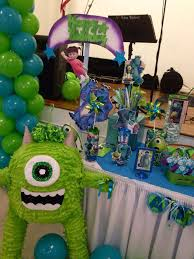 Monster Inc Decorations Monster U0027s Inc Birthday Party Ideas Photo 7 Of 17 Catch My Party