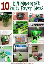 minecraft goody bags 50 diy minecraft birthday party ideas about family crafts