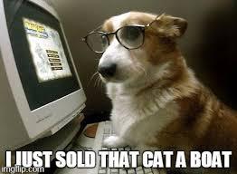 Dog With Glasses Meme - smart dog imgflip