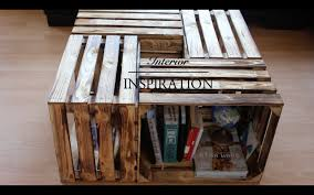 Wohnzimmer Tisch Holzkiste Diy Interior Inspiration Carolineelif Youtube