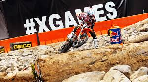 motocross madness 2013 riders ready for random obstacles in enduro x at x games austin 2014